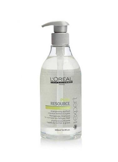 L'Oréal Paris Serie Expert Pure Resource Yağlı Saçlar İçin Arındırıcı Ve Temizleyici Şampuan 500 ml Renksiz